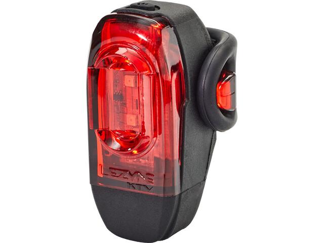 Lezyne KTV Drive Faretto posteriore a LED, nero/rosso